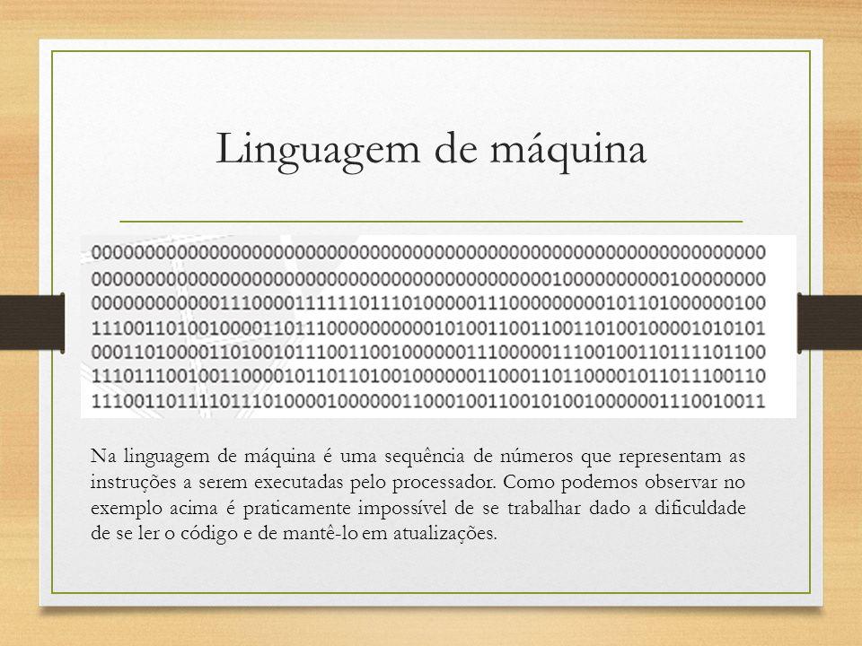 Linguagem de máquina