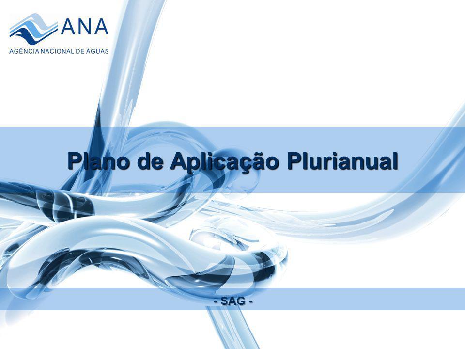 Plano de Aplicação Plurianual