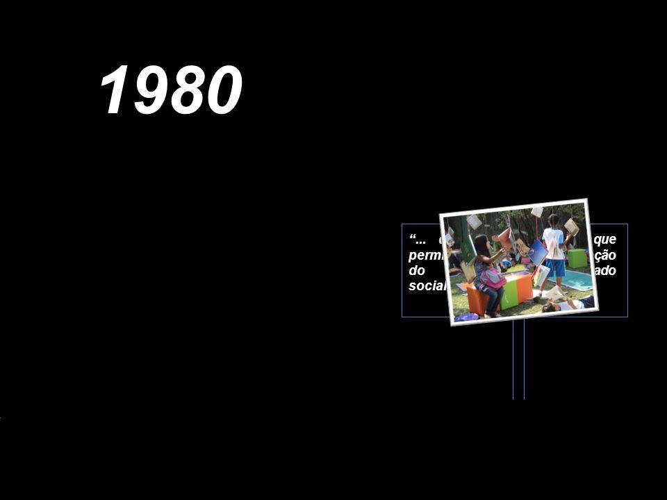 1980 ... dos instrumentos que permitam a todos a apropriação do saber elaborado socialmente.