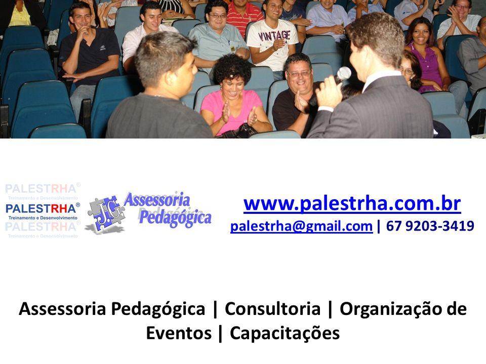 www.palestrha.com.br palestrha@gmail.com | 67 9203-3419