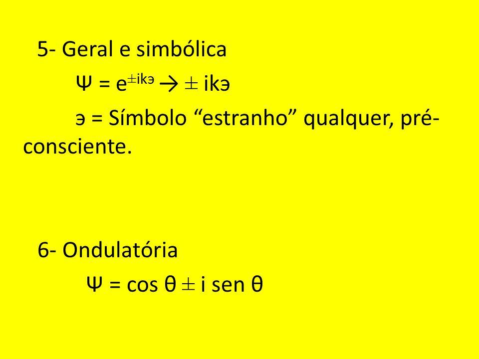 э = Símbolo estranho qualquer, pré- consciente.