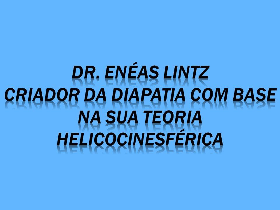 Dr. Enéas lintz Criador da diapatia com base na sua teoria helicocinesférica
