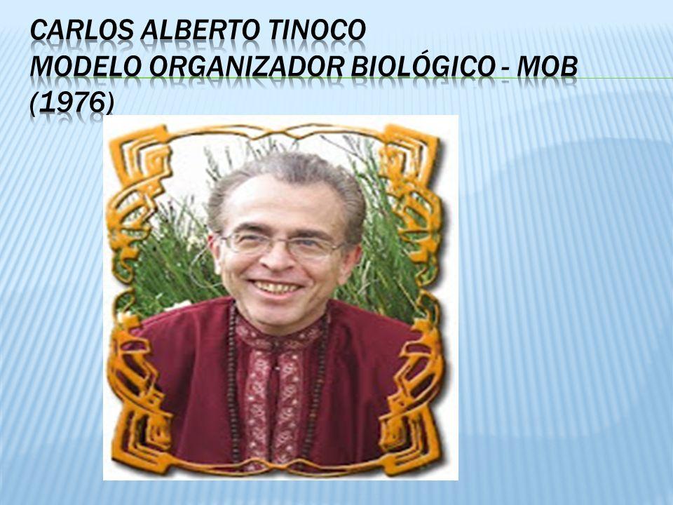 Carlos alberto tinoco Modelo organizador biológico - mob (1976)