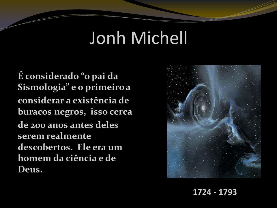 Jonh Michell É considerado o pai da Sismologia e o primeiro a