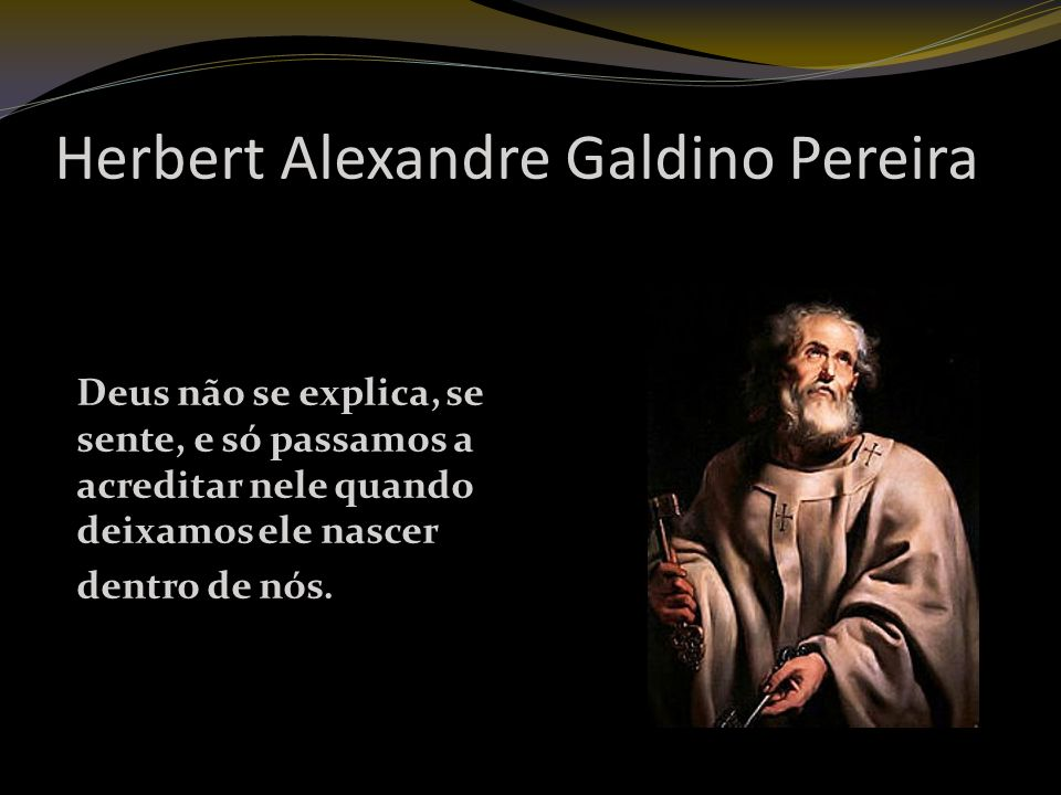Herbert Alexandre Galdino Pereira