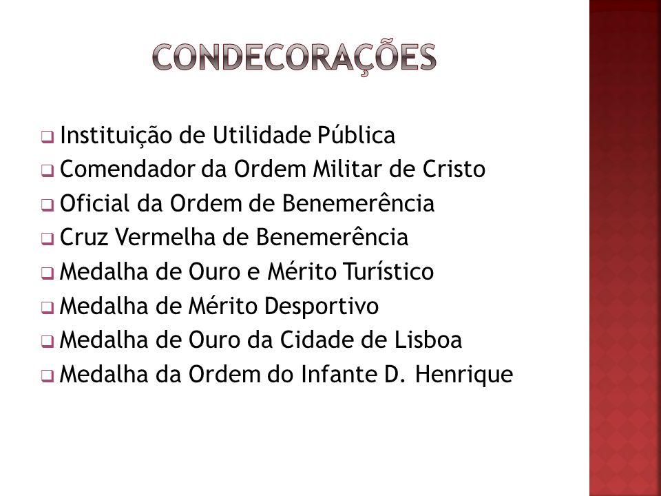 condecorações Instituição de Utilidade Pública