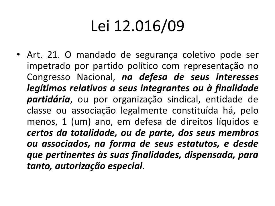 Lei 12.016/09