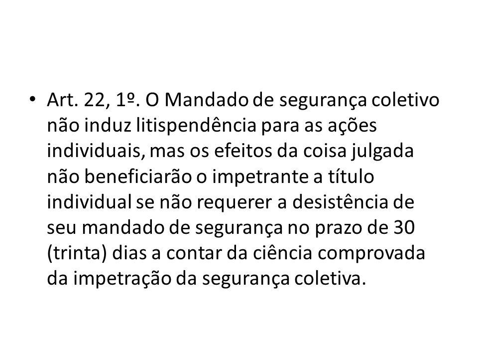 Art. 22, 1º.