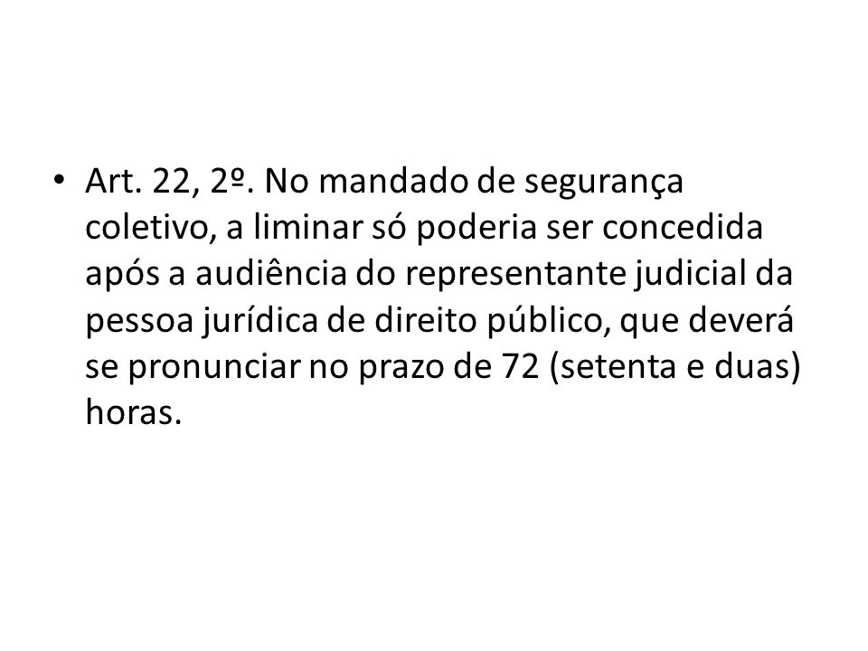 Art. 22, 2º.