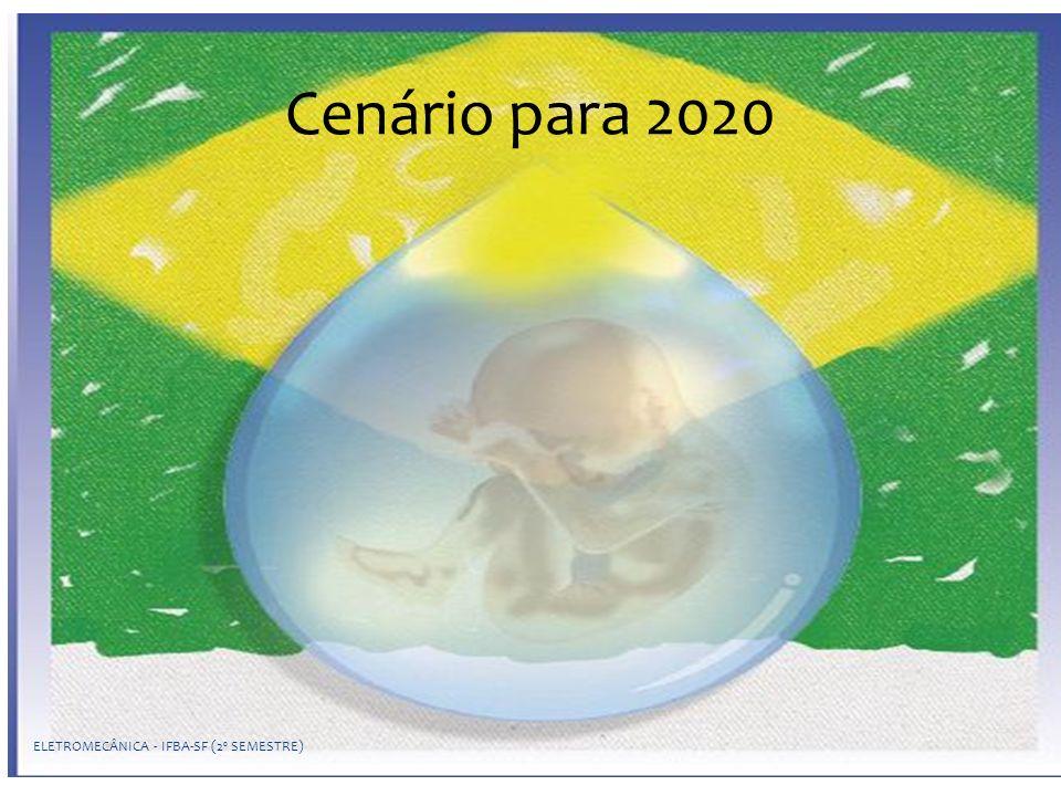 Cenário para 2020 ELETROMECÂNICA - IFBA-SF (2º SEMESTRE)