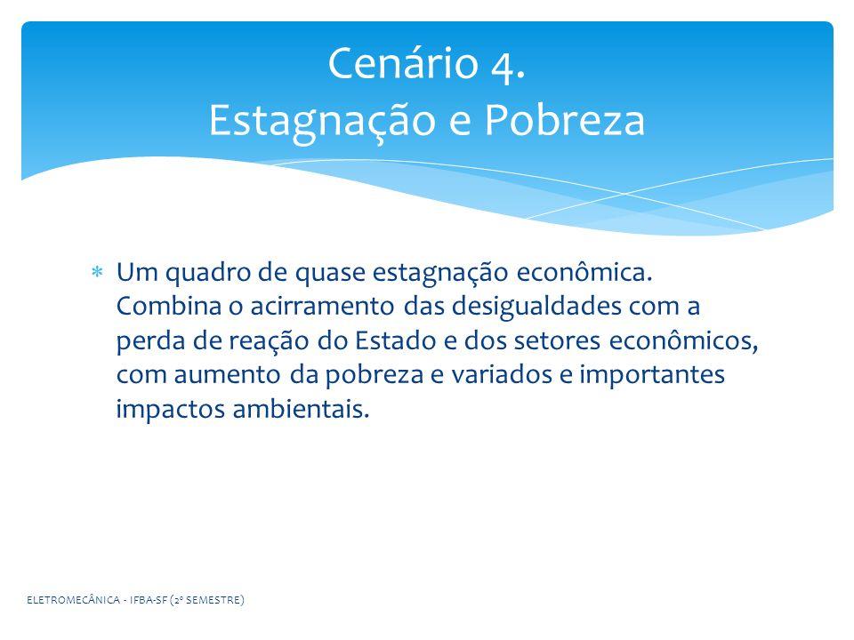 Cenário 4. Estagnação e Pobreza