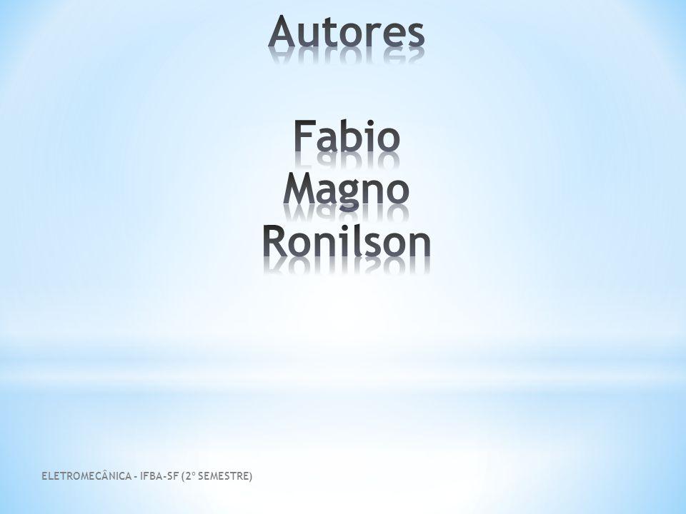 Autores Fabio Magno Ronilson