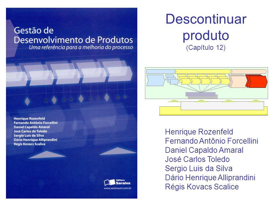 Descontinuar produto Henrique Rozenfeld Fernando Antônio Forcellini