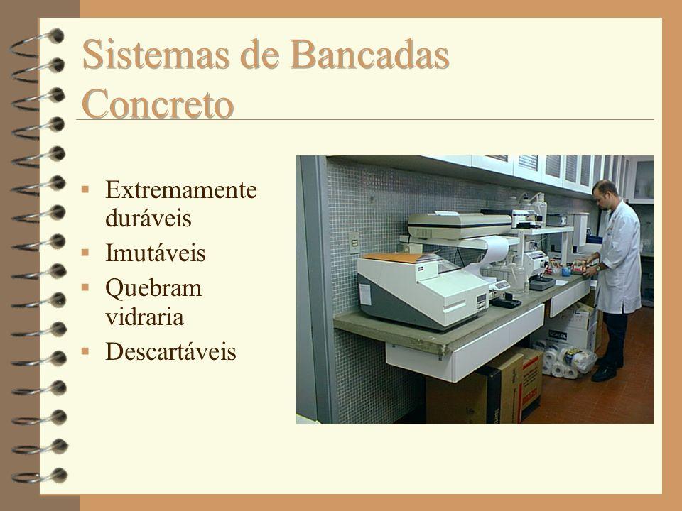 Sistemas de Bancadas Concreto