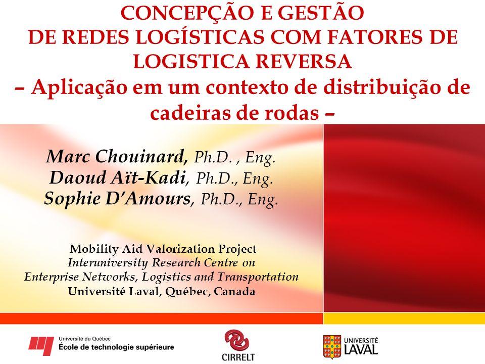 Mobility Aid Valorization Project Université Laval, Québec, Canada