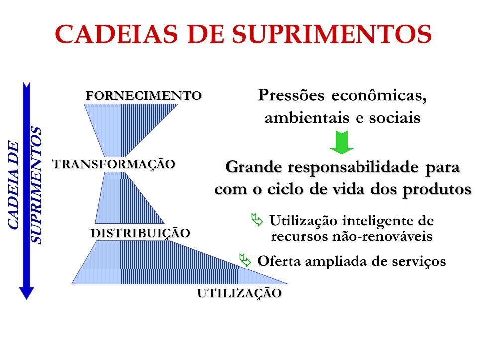 CADEIAS DE SUPRIMENTOS