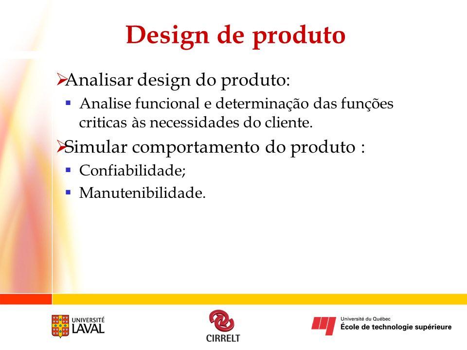 Design de produto Analisar design do produto: