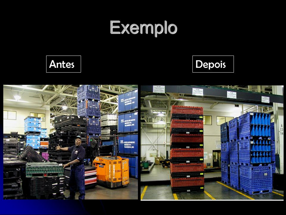 Exemplo Antes Depois