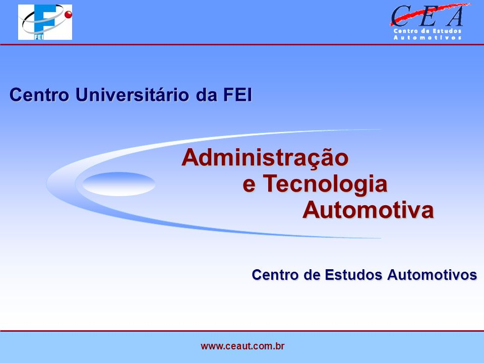 Introdução Centro de Estudos Automotivos