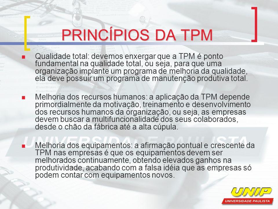 PRINCÍPIOS DA TPM