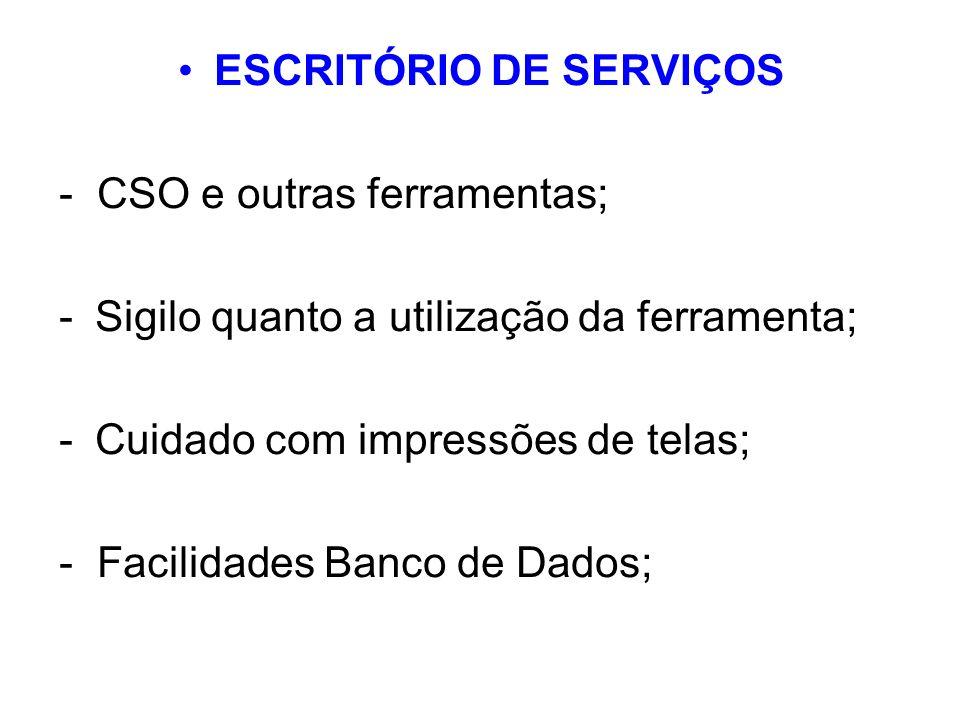 ESCRITÓRIO DE SERVIÇOS