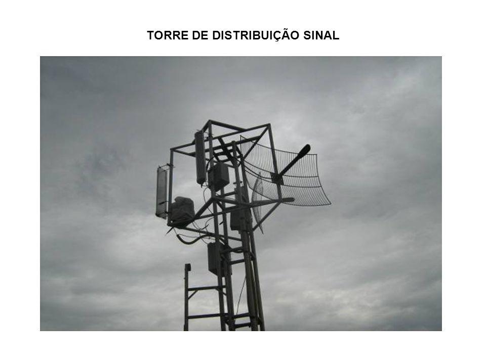 TORRE DE DISTRIBUIÇÃO SINAL