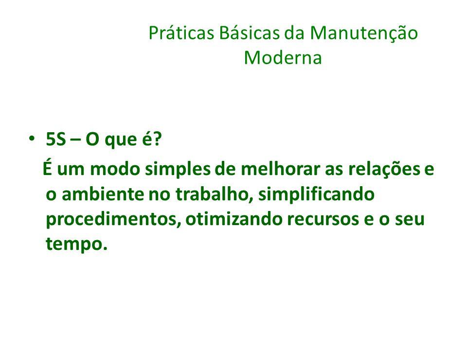 Práticas Básicas da Manutenção Moderna