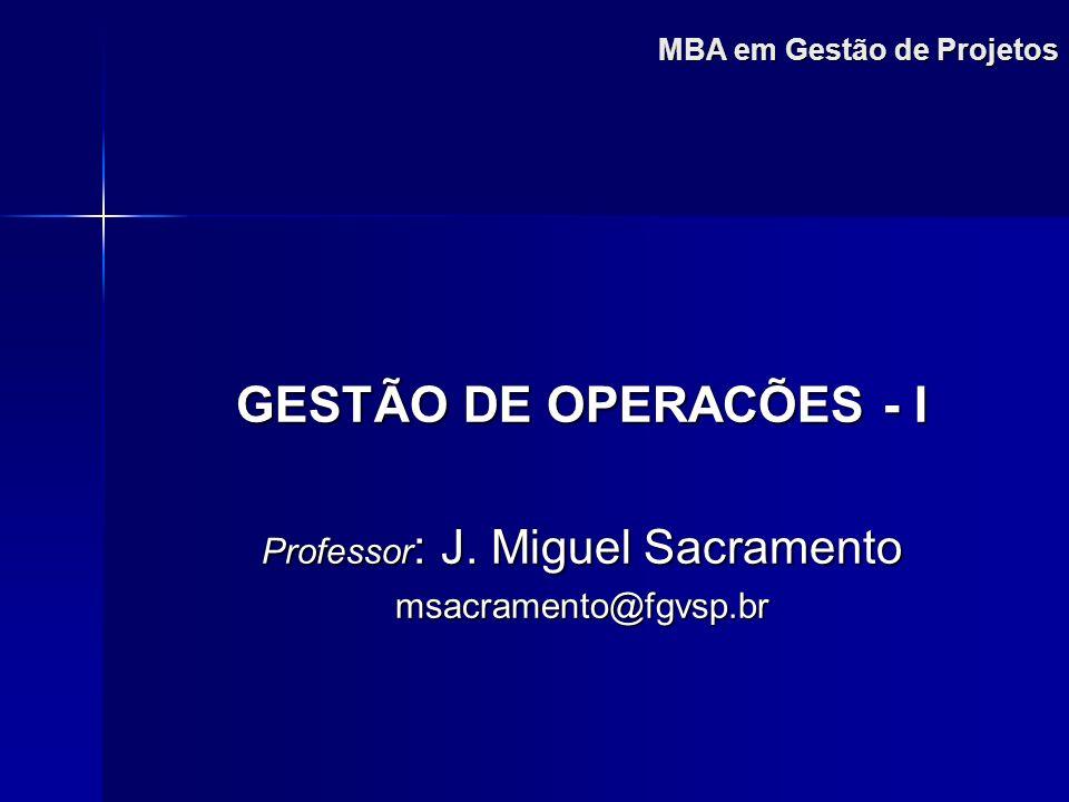 MBA em Gestão de Projetos