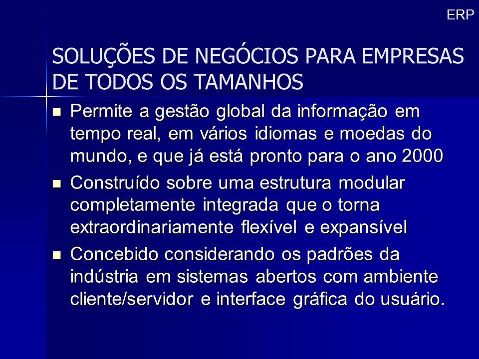 SOLUÇÕES DE NEGÓCIOS PARA EMPRESAS DE TODOS OS TAMANHOS