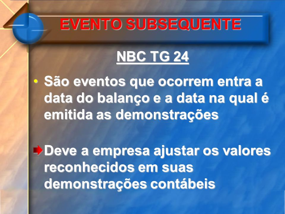 EVENTO SUBSEQUENTE NBC TG 24