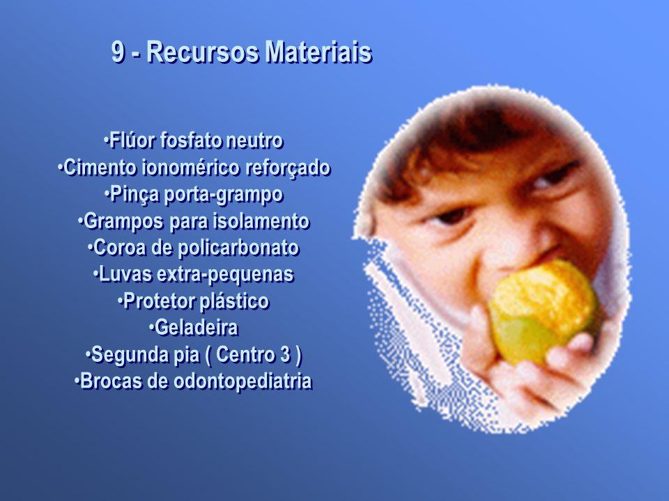 9 - Recursos Materiais Flúor fosfato neutro