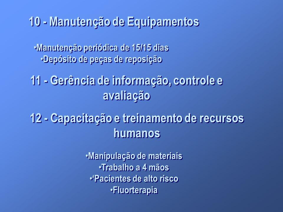 10 - Manutenção de Equipamentos