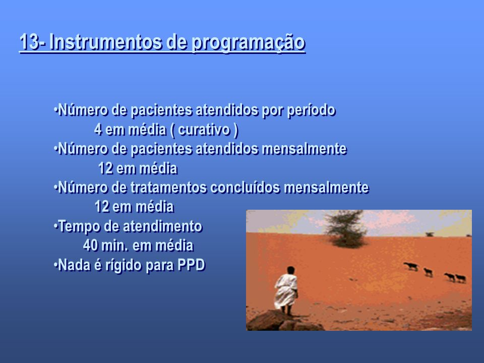 13- Instrumentos de programação