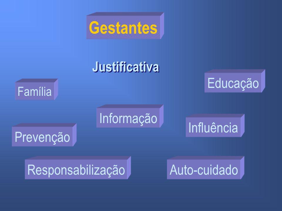Gestantes Justificativa Educação Informação Influência Prevenção