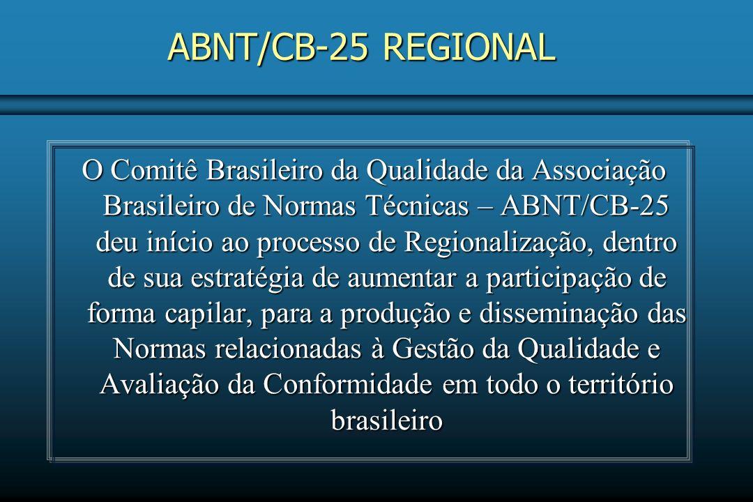 ABNT/CB-25 REGIONAL