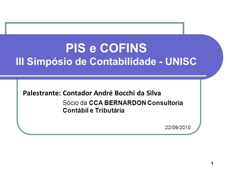 III Simpósio de Contabilidade - UNISC