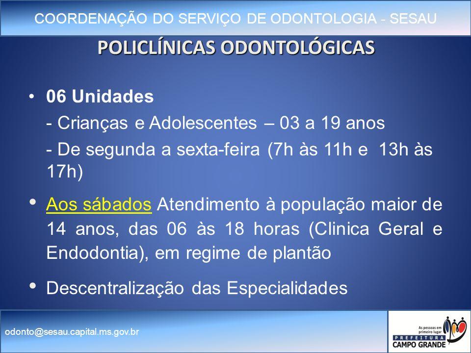 POLICLÍNICAS ODONTOLÓGICAS