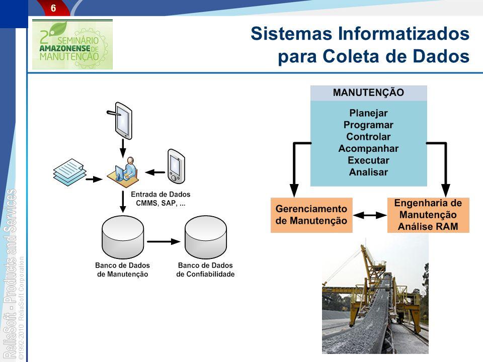 Sistemas Informatizados para Coleta de Dados