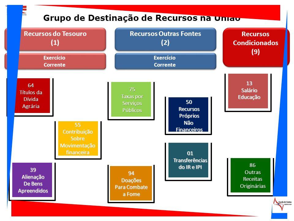 Grupo de Destinação de Recursos na União