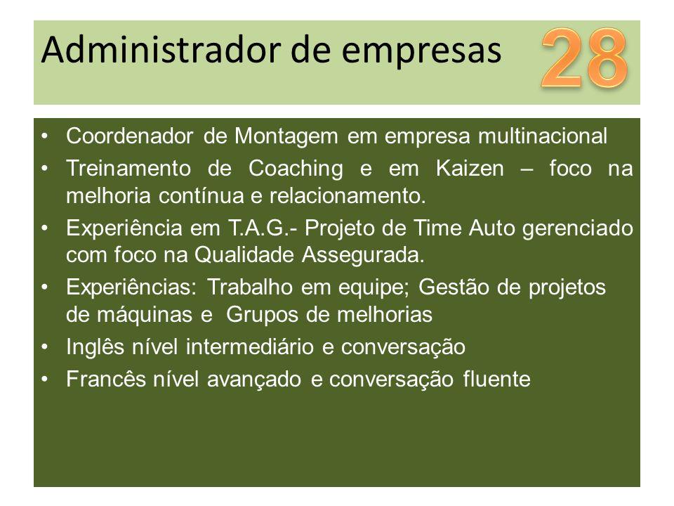 28 Administrador de empresas