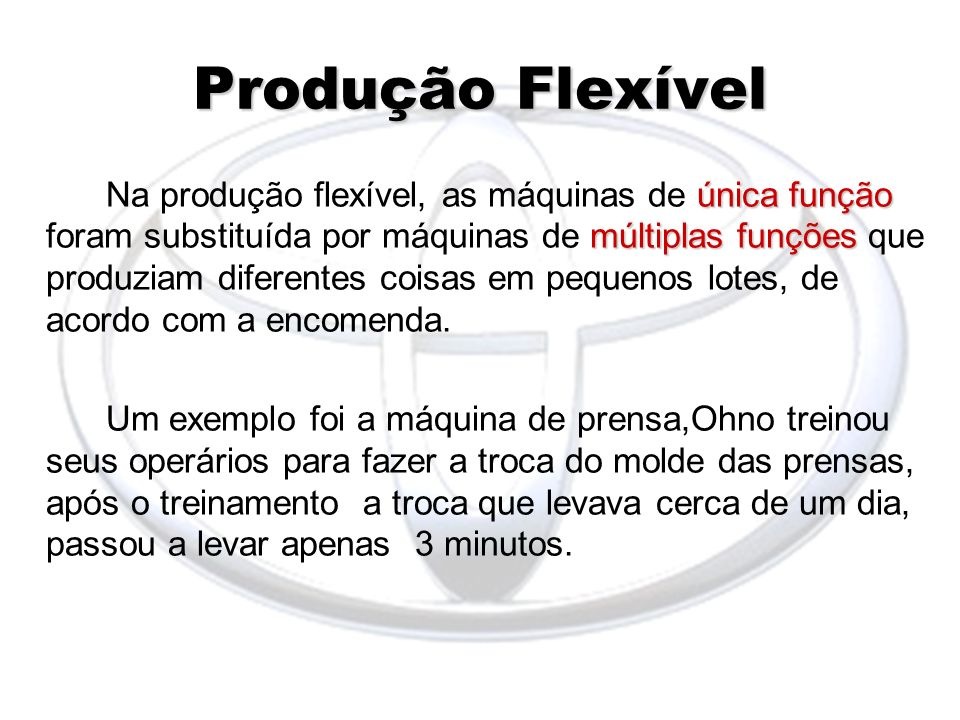 Produção Flexível