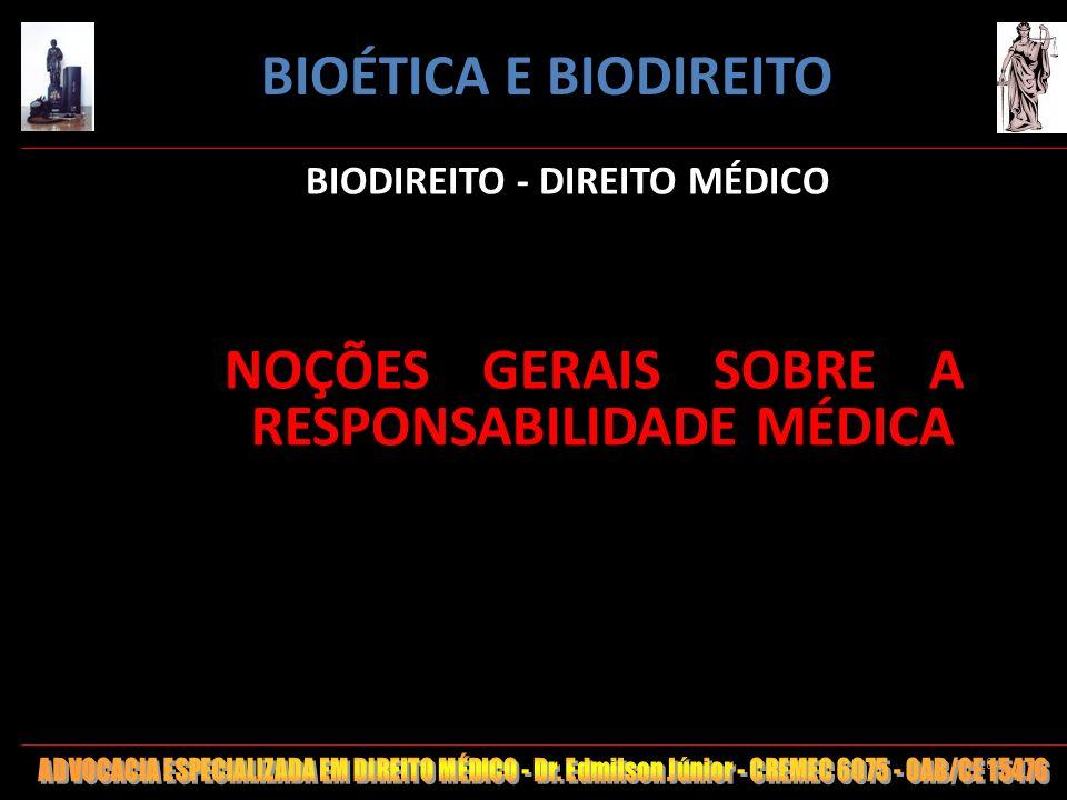 BIODIREITO - DIREITO MÉDICO
