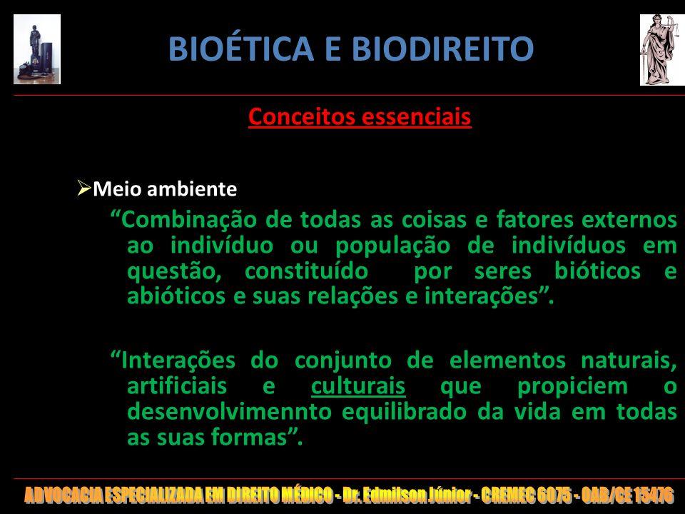 BIOÉTICA E BIODIREITO Conceitos essenciais