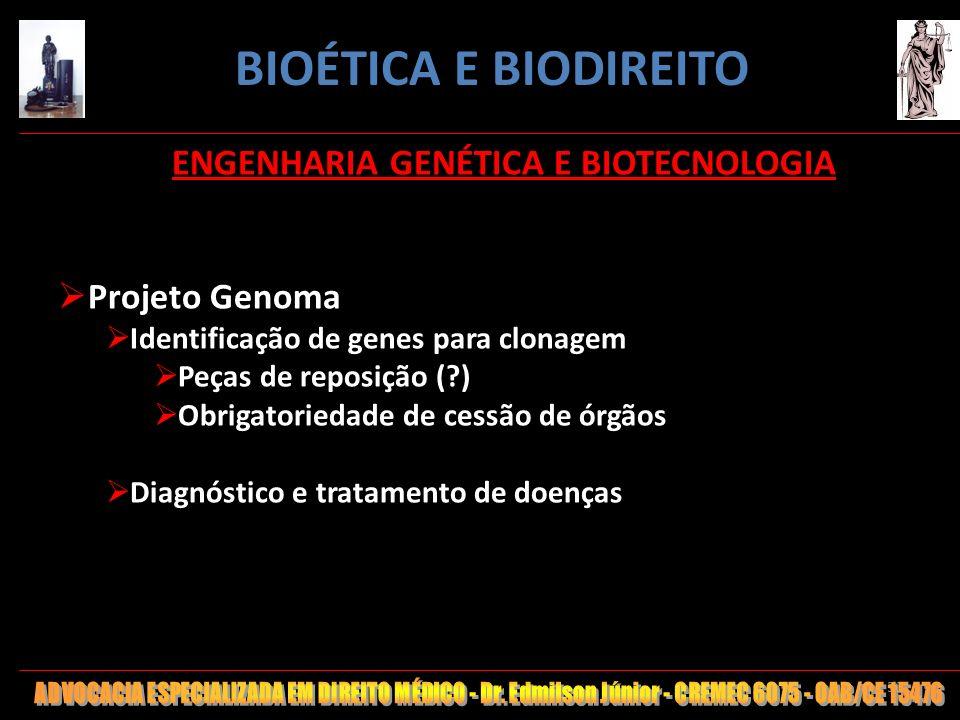 ENGENHARIA GENÉTICA E BIOTECNOLOGIA