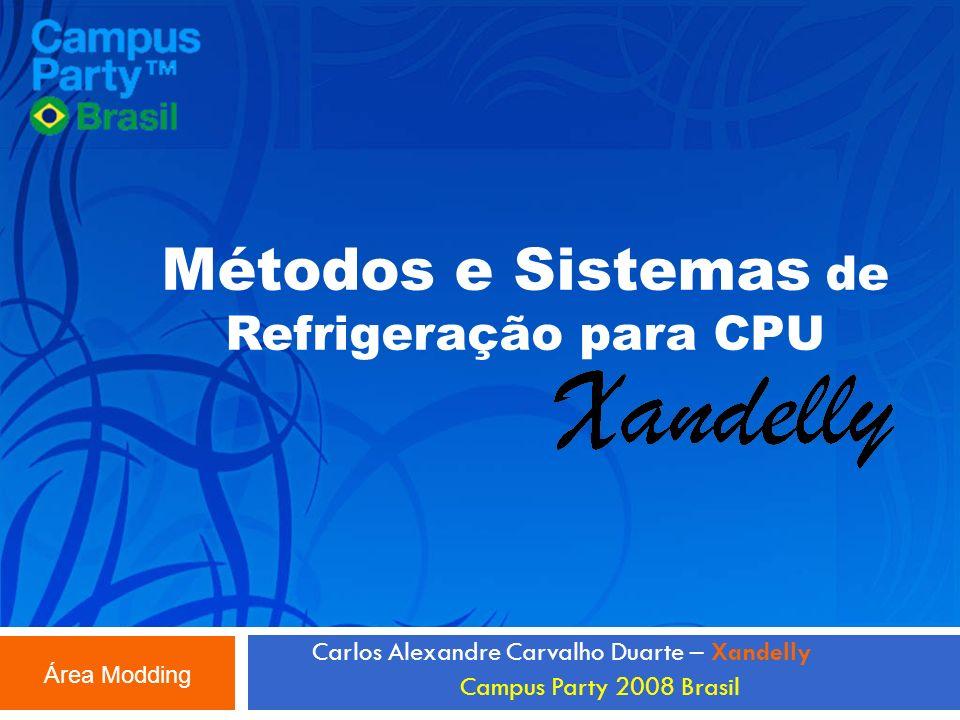 Métodos e Sistemas de Refrigeração para CPU