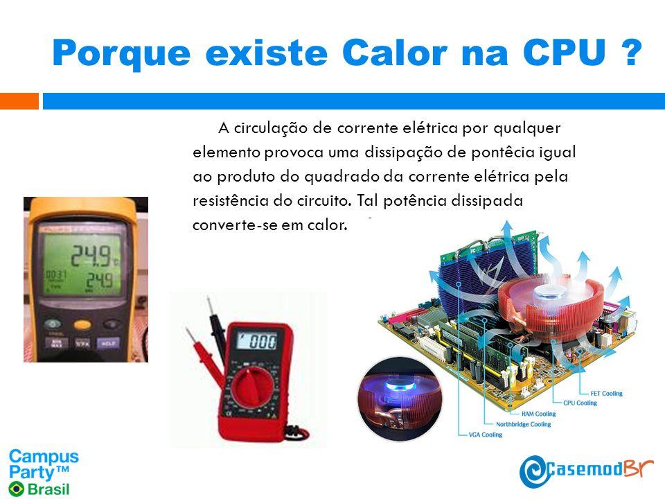 Porque existe Calor na CPU