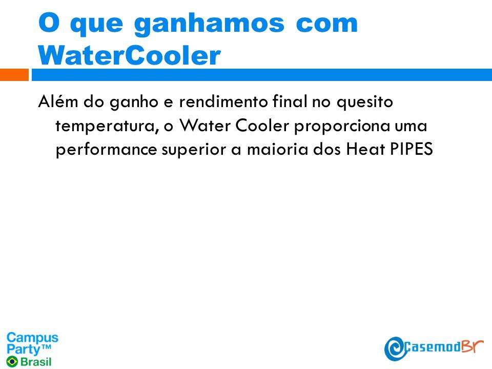O que ganhamos com WaterCooler