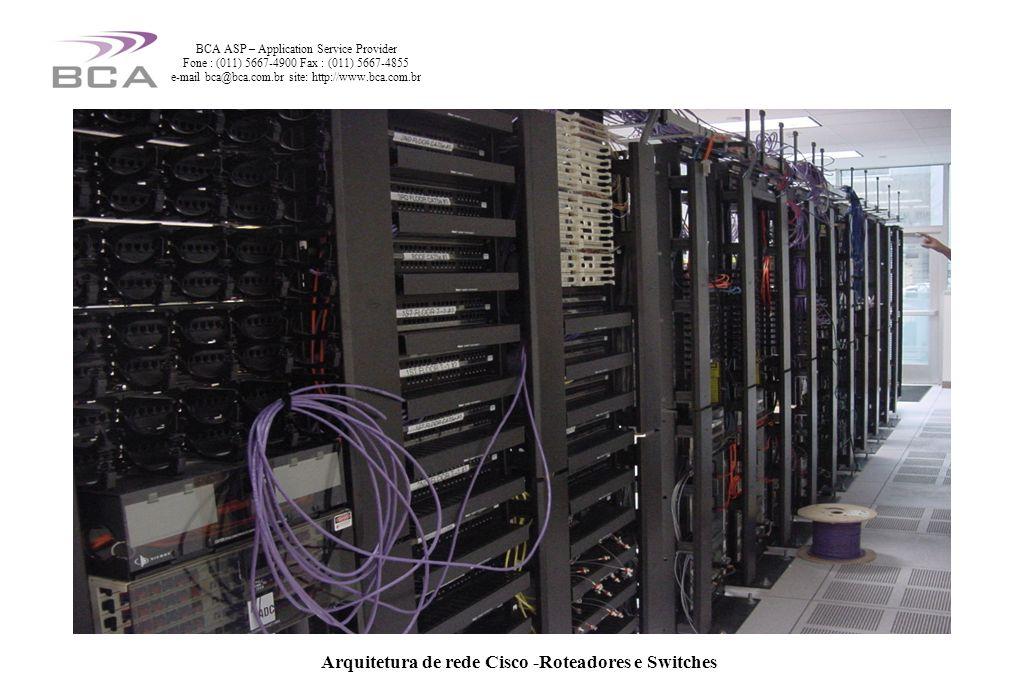 Arquitetura de rede Cisco -Roteadores e Switchess