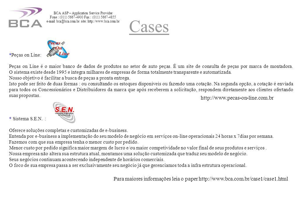 Cases http://www.pecas-on-line.com.br