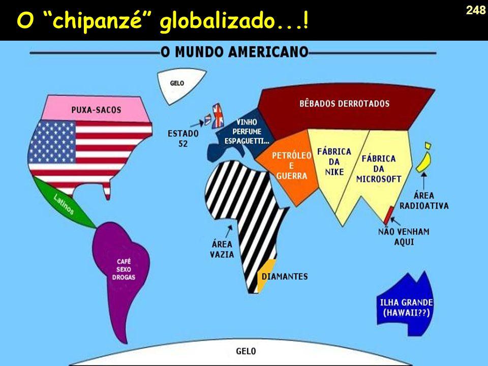 O chipanzé globalizado...!